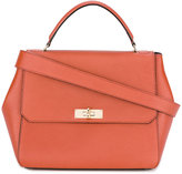 Bally flip lock tote bag - women - Calf Leather - One Size