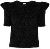 Saint Laurent Metallic knitted sweater