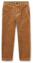 Ralph Lauren Suffield 10-Wale Corduroy Pants, Khaki, Size 2-4