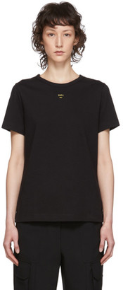 Juun.J Black Classic Logo T-Shirt