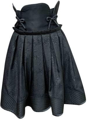 Antonio Marras Black Silk Skirt for Women