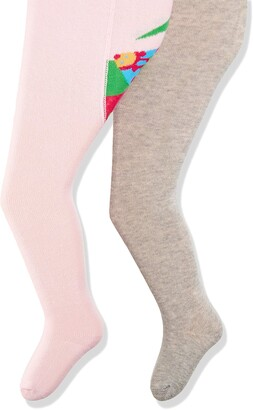 Playshoes Baby Girls' Marienkafer und Unifarben mit Komfortbund Tights