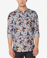 Perry Ellis Men's Paint Print Long-Sleeve Shirt