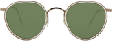 Oliver Peoples MP-2 Brushed Gold / Buff