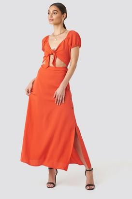 Trendyol Waist Detailed Maxi Dress