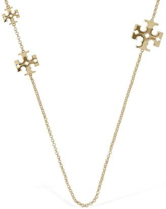 Tory Burch Kira Slim Chain Double Wrap Necklace