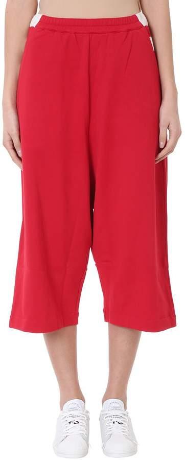 Y-3 Contrast Stripe Track Pants