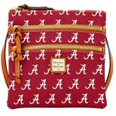 Dooney & Bourke Sports Alabama Triple Zip Crossbody Bag