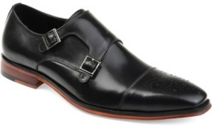 Thomas & Vine Men's Rockwell Double Monk Strap Dress Shoe Men's Shoes
