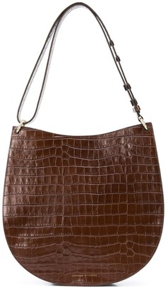 Loeffler Randall Caroline twisted ring shoulder bag