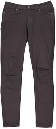 Paige Grey Cotton Jeans