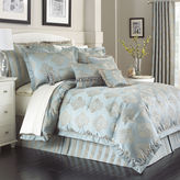 Marquis by Waterford Hadley Blue 4-pc. Jacquard Comforter Set