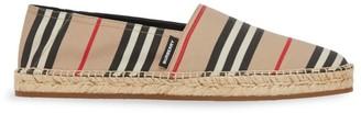 Burberry Icon Stripe Espadrilles