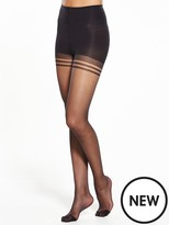 Pretty Polly 2 Pack Nylons Secret Slimmer Tights