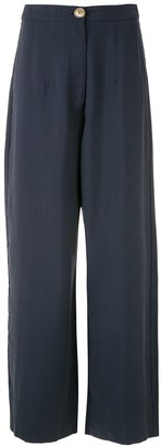 Haight Nina high-rise wide leg trousers