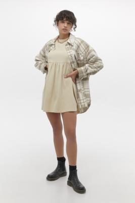 Urban Outfitters Alexa Babydoll Mini Dress - White XS at