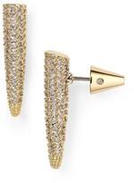 Eddie Borgo Mini Pavé Spike Earrings