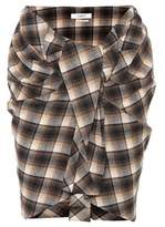 Etoile Isabel Marant Isabel Marant, Étoile Placid plaid wool-blend skirt