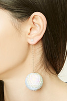 Forever 21 FOREVER 21+ Sequined Ball Drop Earrings