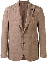 Lardini two-button blazer - men - Cotton/Linen/Flax - 46