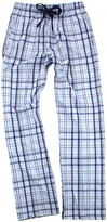 Boxercraft Women's Sleep Bottoms CNP - Carolina Blue & Navy Flannel Pajama Pants - Women