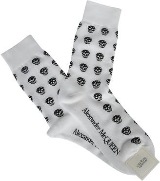 Alexander McQueen All Over Skull Socks