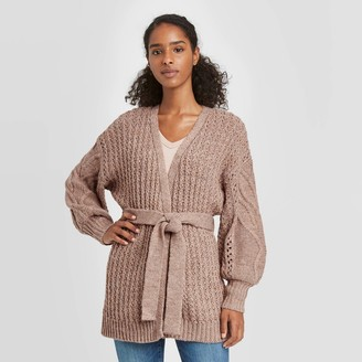 Universal Thread Women's Open Neck Cardigan - Universal ThreadTM