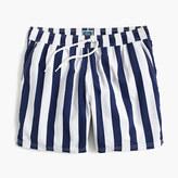 "J.Crew 6"" Swim Trunk In Astor Blue Stripe"