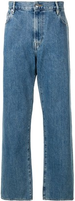 Burberry Wide-Leg Jeans