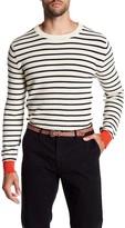 Scotch & Soda Stripe Crew Neck Sweater