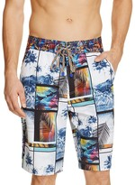 Robert Graham Maluku Islands Tropical Swim Trunks