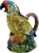 Certified International Tropics 3-D Parrot Pitcher