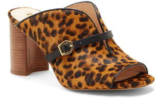 Louise et Cie Kimba Genuine Calf Hair Slide Sandal