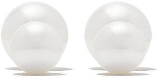 Yoko London 18kt gold Duet Sea pearl earrings