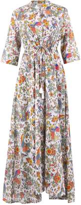 Tory Burch Floral Printed Maxi Dress