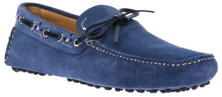 Car Shoe bow detail loafer