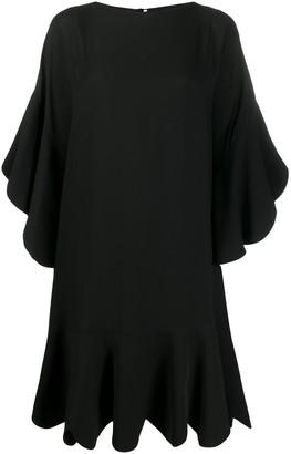 Valentino Scalloped Shift Dress