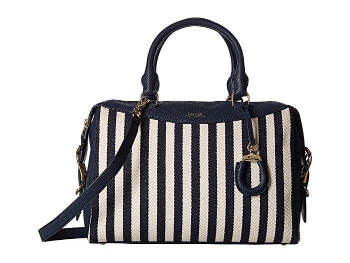 c9a79a35a Lauren Ralph Lauren Blue Handbags - ShopStyle