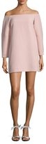 BCBGMAXAZRIA Yesenia Off The Shoulder Shift Dress