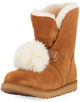 UGG Isley Waterproof Pompom Boot, Kid Sizes 13T-6Y