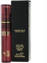 Gianni Versace Versace Crystal Noir By Edt Spray Vial On Card