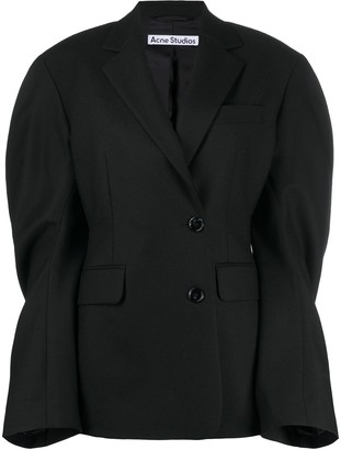 Acne Studios Wide Sleeve Double-Breasted Blazer