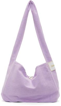 we11done Purple Canvas Bag