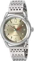 Citizen Women's FE6080-54X Drive Analog Display Japanese Quartz Silver Watch