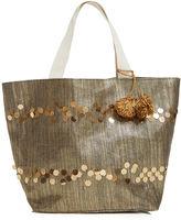 Fashion to Figure Venice Gold Beach Bag