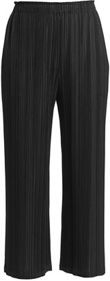 Pleats Please Issey Miyake Mellow Pleats Cropped Pants
