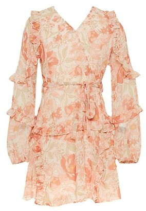 Bardot Junior Girl's Lola Ruffle Floral Dress