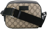 Gucci GG Supreme shoulder bag - women - Leather/Rayon - One Size