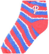 For Bare Feet Philadelphia Phillies Sleep Soft Candy Striped Socks