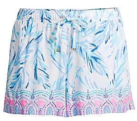 Lilly Pulitzer Women's Katia Regular-Fit Floral Resort Shorts